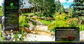 Keep It Green Landscaping - Crested Butte's Best Landscaping - Crested Butte Web Design