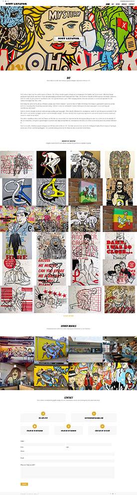 Scot-Lefavor-- Denver--CO --Art---Graphic-Design---Murals