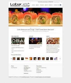The Lobar Re - Crested Butte Web Designtaurant and Sushi Lounge