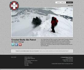 Crested Butte Ski Patrol - Crested Butte Web Design
