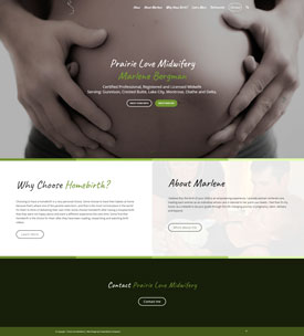Home---Prairie-Love-Midwifery - Crested Butte Web Design